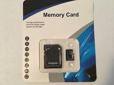 128 GB micro SD SDHC Coruscation TF Memory Card Class 10 Micro SD Free SD Adapter