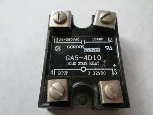 Gordos Crouzet GA5-4D10 Solid State Relay (10 Amp)