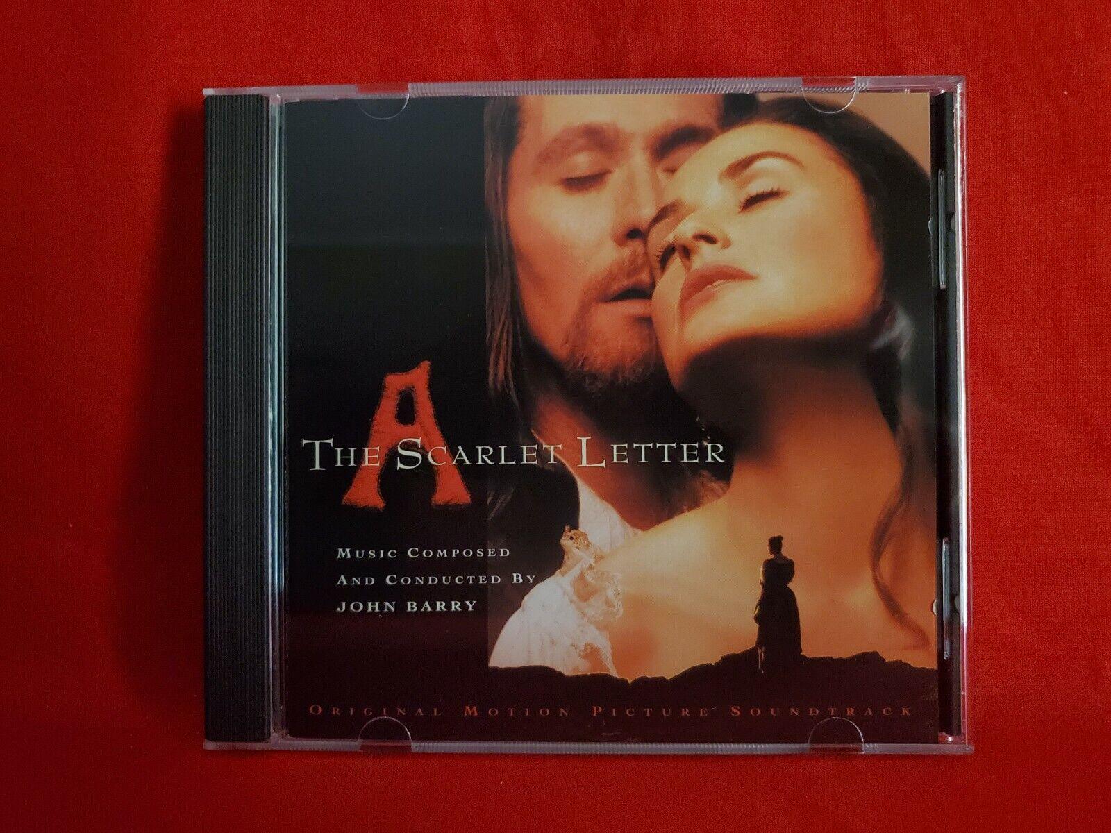 The Scarlet Letter 1995 Epic Soundtrax Soundtrack CD John Barry - $19.98