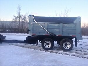 14 ft. Pup trailer