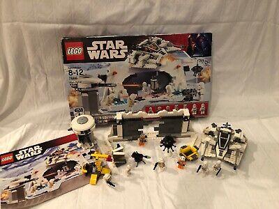 Lego Star Wars 7666 Hoth Rebel Base LIMITED EDITION 30th Anniversary K-3PO Lego Star Wars Hoth Rebel Base