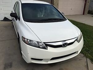 09 Very clean white Honda Civic for sale