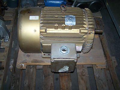 Baldor Em4108t-8 30hp 3550 Rpm Industrial Motor