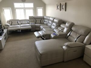 Living area powered Recliner couch