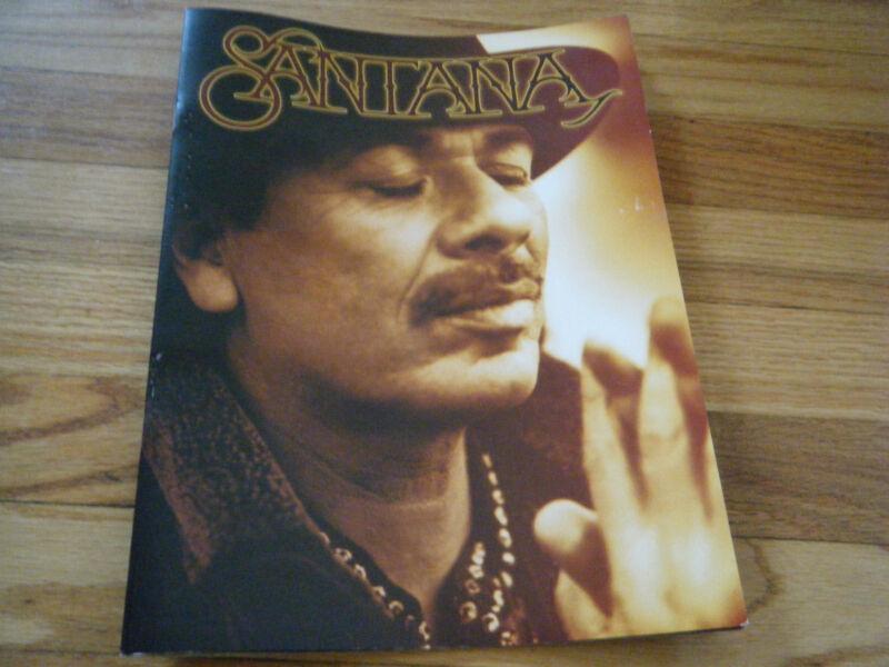 Santana Concert  program