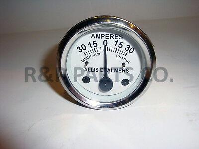 Allis Chalmers 30 Amp Ammeter Gauge Ac B C Ca D10 D10 D12 D15 D G Rc Wc Wf Wd