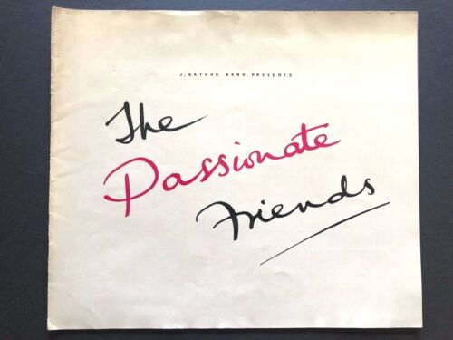 """The Passionate Friends Movie Pressbook (UK, 1949) - 20 Pages - 12"""" x 14"""""""