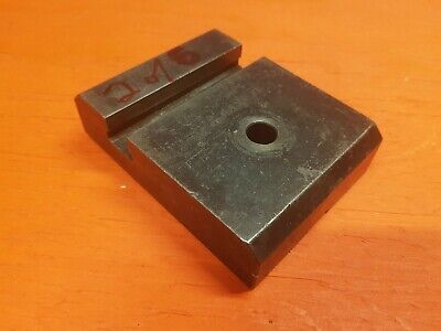 Hardinge Lathe Cross Slide - Cut Off Tool Post Block - Riser - Spacer - 2 Of 6