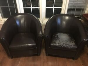 2 Tub Chairs for $16!