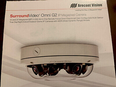 Arecont Vision Av20175dn-08 Omni G2 20mp Dome Ip Camera