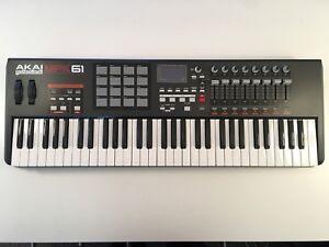 Akai MPK61 Midi Controller Keyboard