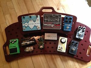 Pedals and Holey Board for sale..