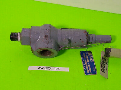 Taylor Safety Relief Valve 82e8051311 T-8200-1 Used