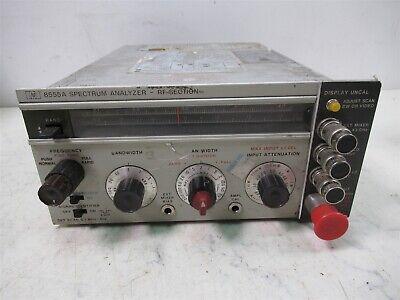 Hp Hewlett Packard 8555a Spectrum Analyzer Rf Section