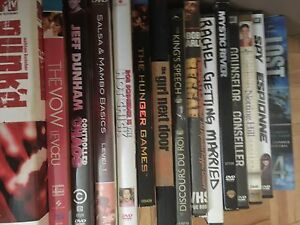 Over 80 DVD's, Bluerays and TV Series Seasons