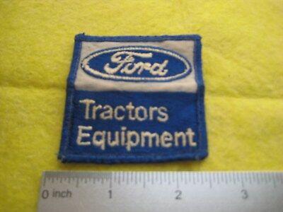 Vintage Ford Tractor Dealer  Uniform Hat Sholder Patch