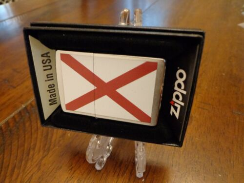 ALABAMA STATE FLAG SERIES ZIPPO LIGHTER MINT IN BOX
