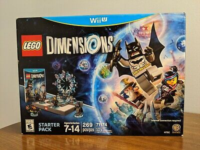 LEGO Dimensions Starter Pack Wii-U New Nintendo Wii U, nintendo_wii_u