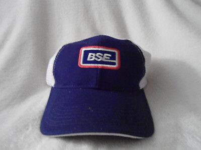 BSE Tucker Hat Border States Electric Blue Mesh SnapBack