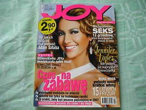 Jennifer Lopez in JOY 2/2007 rare articles Kate Winslet - Bydgoszcz, Polska - Jennifer Lopez in JOY 2/2007 rare articles Kate Winslet - Bydgoszcz, Polska