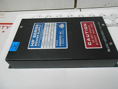 7c5-15 Powertec Militarized Dc Reg Power Supply 115v 3ph 400hz 5vdc15a Nos