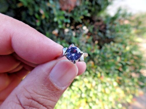 ALEXANDRITE 10K GOLD STRONG COLOR CHANGE size 5.5