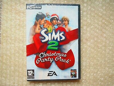 PC THE SIMS 2 CHRISTMAS PARTY PACK EXP PACK EA GAMES 2005 12+ (CD-ROM) NEW ()