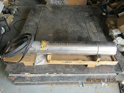 Sunstar Submersible Motor 110 025342606310 25 Hp Fr. 6 Used