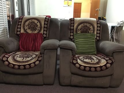 3+1+1 couch/sofa available in perfect condition with reclyners Strathfield Strathfield Area Preview
