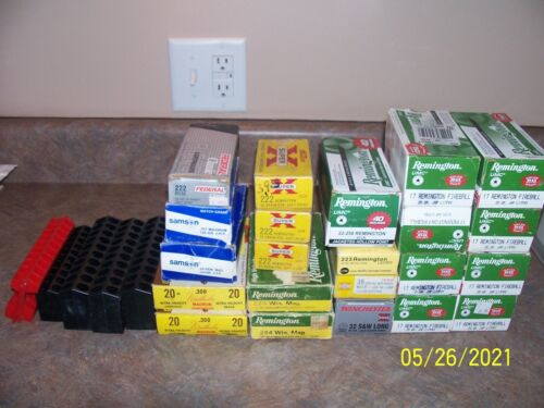 Vintage Empty Ammo Boxes, Winchester, Weatherby, Remington, etc, 27ct