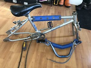 Raleigh blue max BMX frame fork and parts