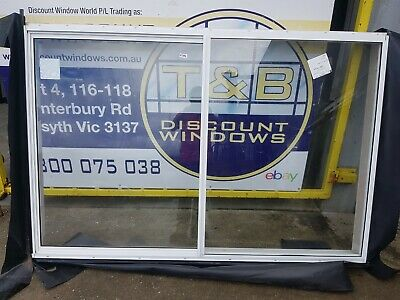 1240H x 1850W Aluminium Sliding Window (Item 4584)