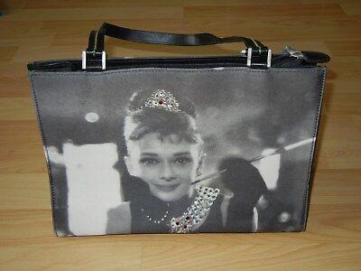 Audrey Hepburn Tasche mit Strasssteinen ()