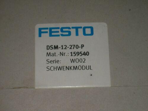 NEW FESTO DSM-12-270-P ROTARY ACTUATOR
