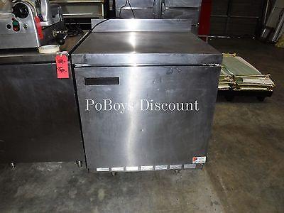 Delfield Under Counter Refrigerator Prep Work Top Stainless Steel Refrigeration