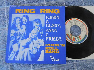 Bjorn & Benny, Anna & Frieda (Abba)  - Ring Ring -  French Picture Sleeve PS 7""