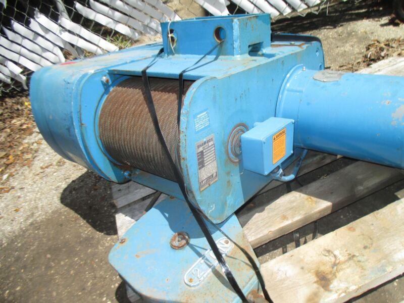 Shawbox 5hp 2 Ton Electric Hoist 72l02029s30, 30ft-min 208-230-460v