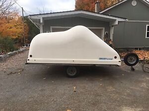 2001 hyland snowmobile trailer