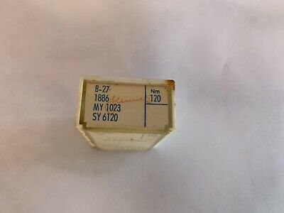 Schmetz B-27 Needles Size 120 Box Of 100 N O S For Serger Fits Rimoldi 327 329