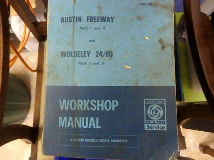 Austin Freeway and Wolseley Workshop Manual