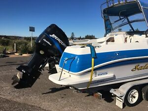 2001 Haines Signature 630F in great condition with Mackay trailer