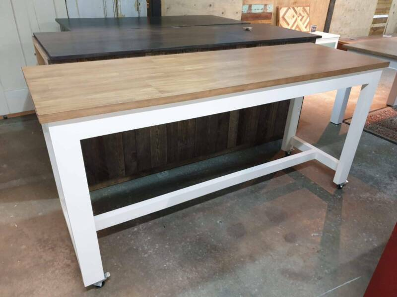 Made To Order Solid Pine Kitchen Island On Castor Wheels Dining Tables Gumtree Australia Morphett Vale Area Lonsdale 1235558422