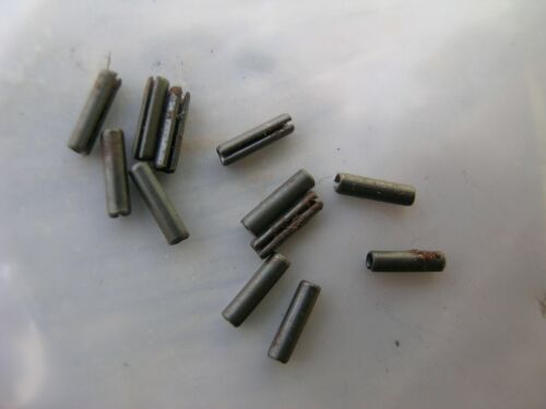"""Roll Pins Spring Steel 5/64"""" x 5/16"""" LOT OF 12 New/Old Stock"""