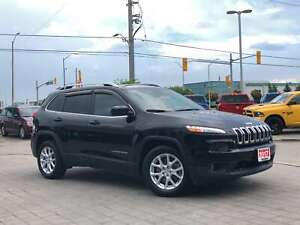 2017 Jeep Cherokee NORTH**LEATHER**BACK UP CAM**HEATED SEATS