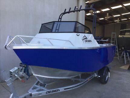 Ozsea plate aluminium boats 510 cuddy runabout