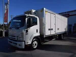 2012 Isuzu FRR 500 10 Pallet Freezer Truck Old Guildford Fairfield Area Preview