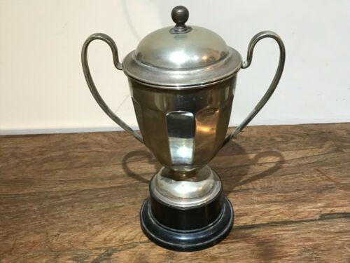 Silver plated Urn on a base