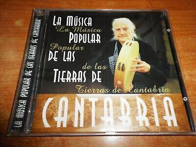 LA MUSICA MAS POPULAR DE LAS TIERRAS DE CANTABRIA CD ALBUM 1997 RTVE MUSICA