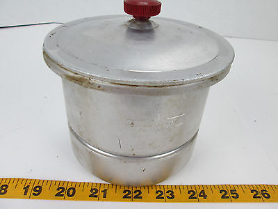 Precision Scientific Pan With Tube Holder Lid Science Laboratory Equipment T