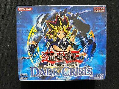 Yugioh! Dark Crisis Unlimited Booster Box - Factory Sealed Dark Crisis Booster Box